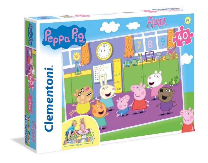 Clementoni legpuzzel Peppa Pig 40 stukjes