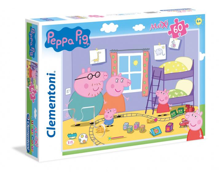 Clementoni Legpuzzel Peppa Pig 60 stukjes