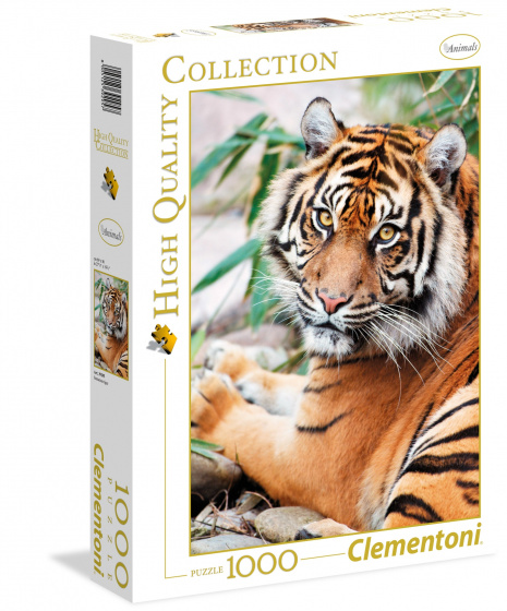 Clementoni Legpuzzel Sumatran Tiger 1000 stukjes