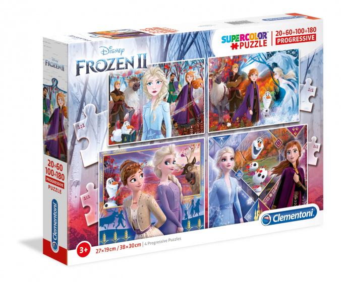 Frozen 2 Puzzel 20-60-100-180