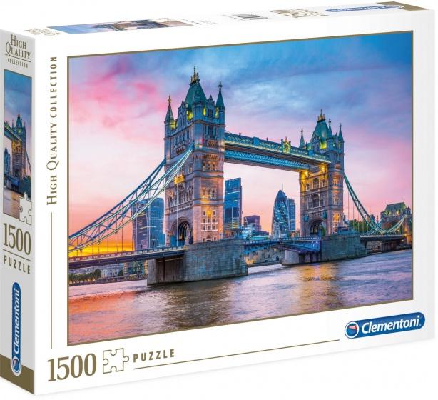 Clementoni legpuzzel Tower Bridge 1500 stukjes