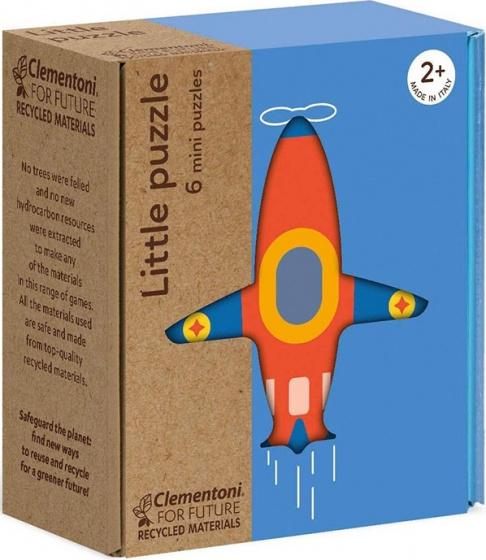 Clementoni legpuzzels mini Transport 6 delig
