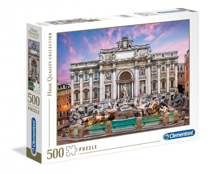 Clementoni legpuzzel Trevi Fountain 500 stukjes