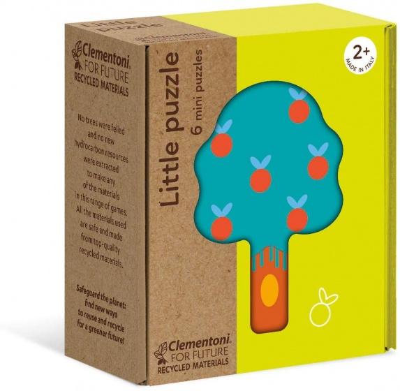 Clementoni legpuzzels mini Tuin 6 delig
