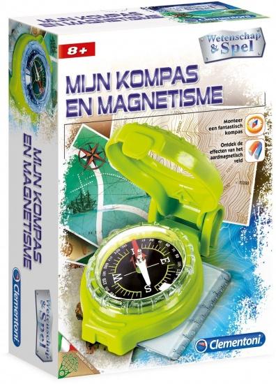 Clementoni Mijn Kompas en Magnetisme Clementoni
