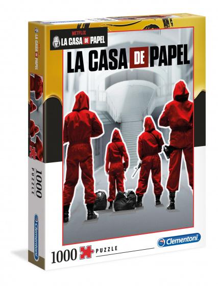 Clementoni Netflix La Casa de Papel puzzel 1000 stukjes
