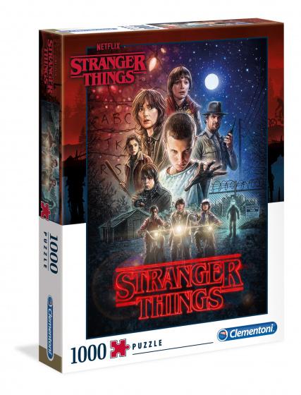 Clementoni Netflix Stranger Things puzzel 1000 stukjes