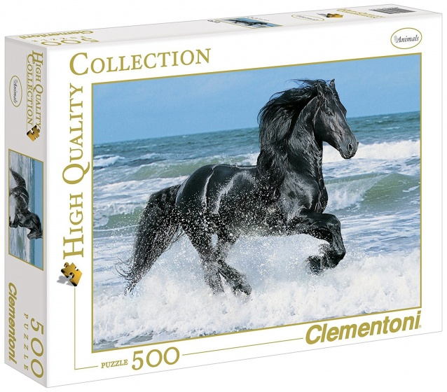 Clementoni Puzzel Black Horse 500 stukjes