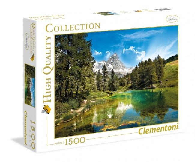 Clementoni Puzzel Blue Lake 1500 stukjes