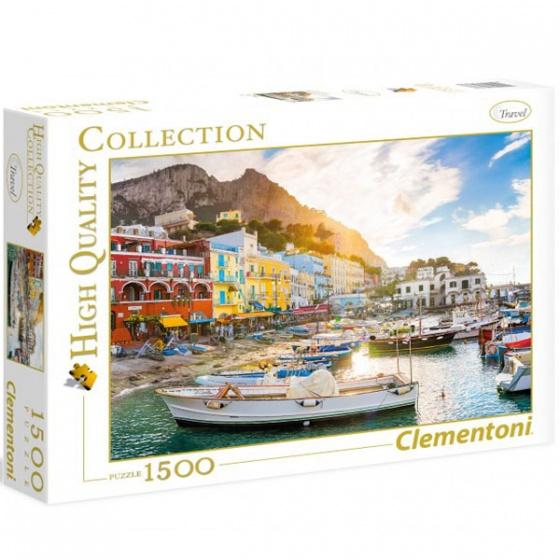 Clementoni Puzzel Capri 1500 stukjes