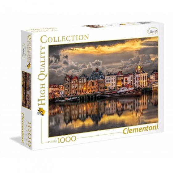 Clementoni puzzel Dutch Dreamworld 1000 stukjes
