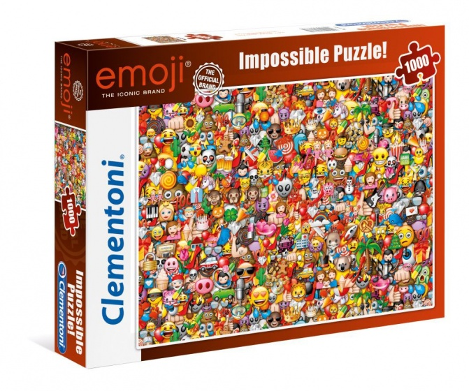 Clementoni Puzzel Impossible Emoji 1000 stukjes