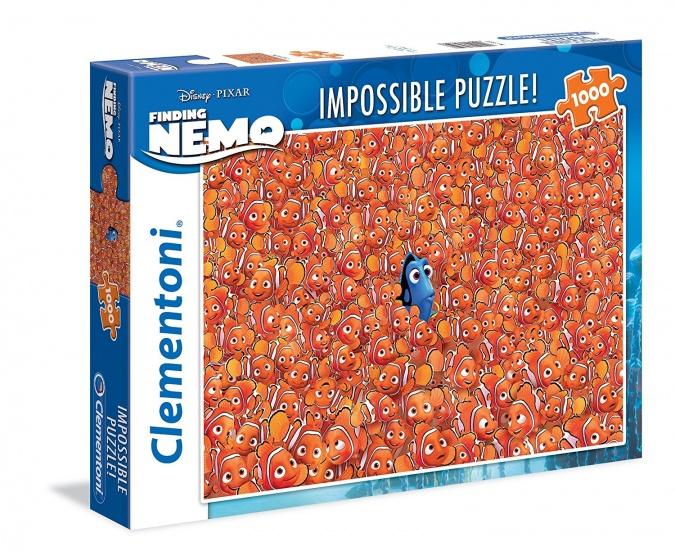 Clementoni impossible puzzel Disney Finding Dory 1000 stukjes