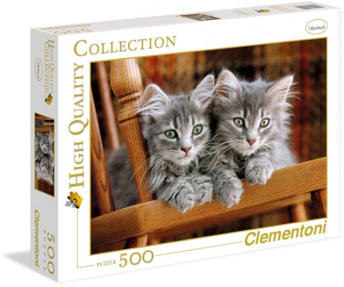 Clementoni puzzel Kittens 500 stukjes
