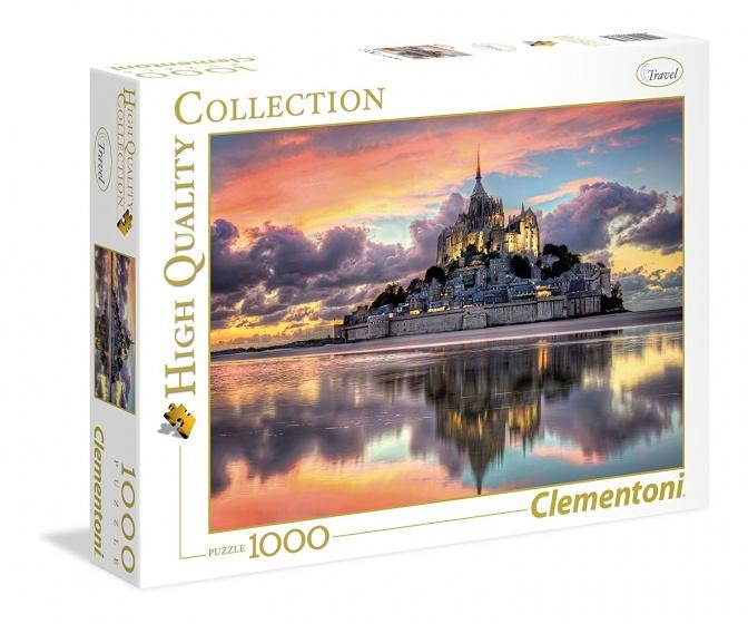 Clementoni Puzzel Mont Saint Michel 1000 stukjes