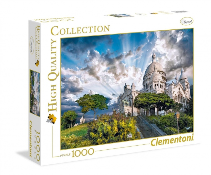 Clementoni puzzel Montmartre 1000 stukjes
