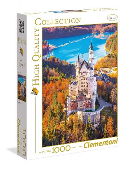 Clementoni Puzzel Neuschwastein 1000 stukjes