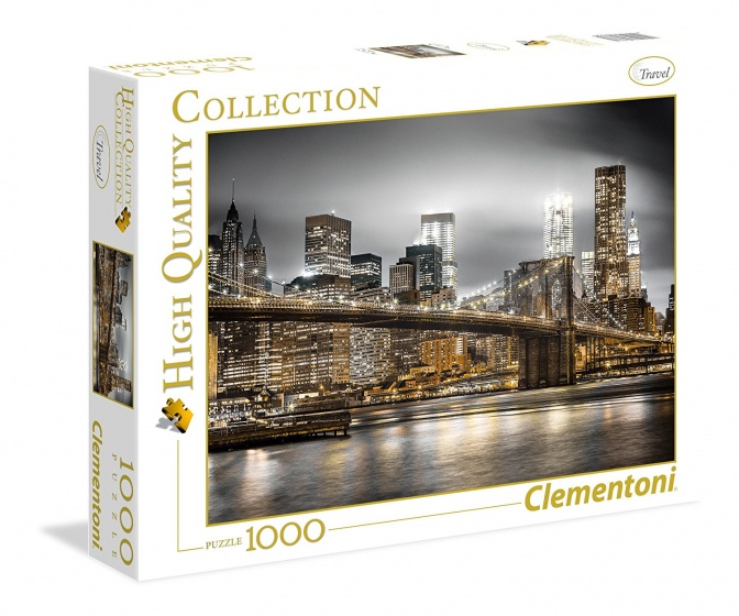 Clementoni Puzzel New York Skyline 1000 stukjes