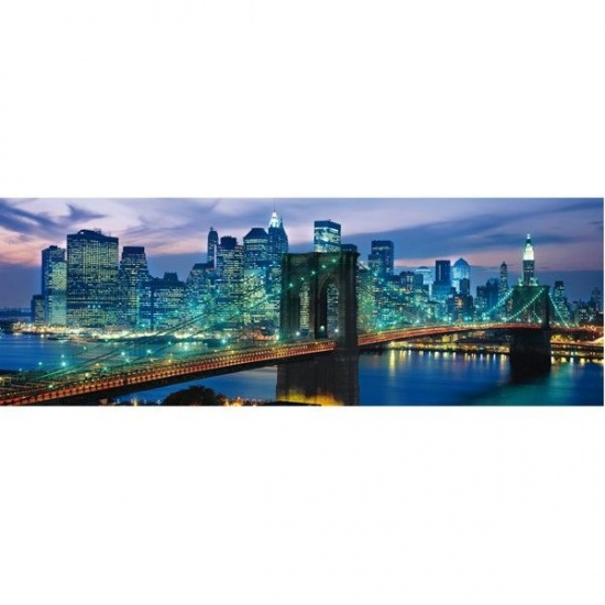 Clementoni puzzel panorama Brooklyn 1000 delig