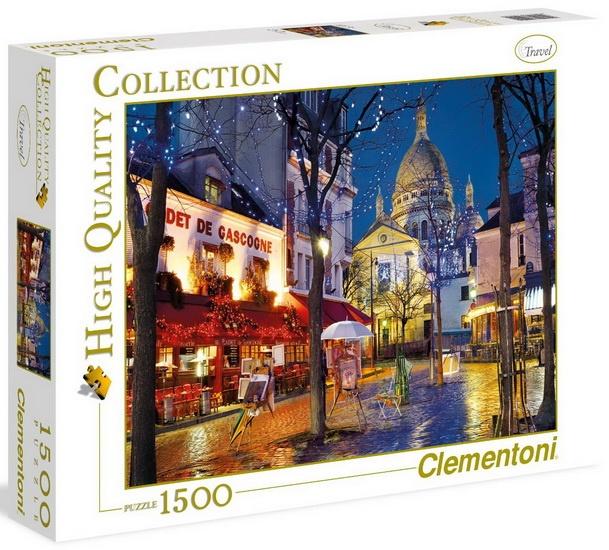 Clementoni Puzzel Paris Montmartre 1500 stukjes