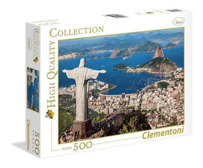 Clementoni Puzzel Rio de Janeiro 500 stukjes