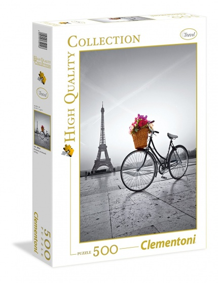 Clementoni Puzzel Romantic Paris 500 stukjes