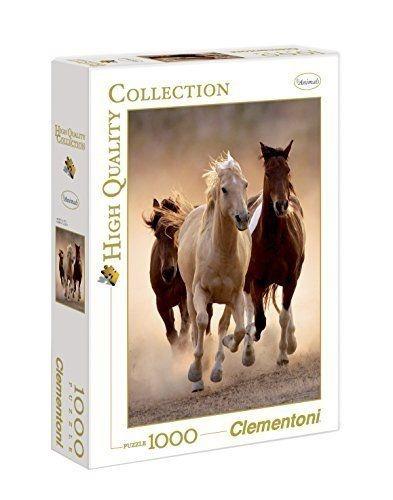 Clementoni Puzzel Running Horses 1000 stukjes