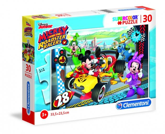 Clementoni puzzel SuperColor Puzzle Mickey Mouse 30 stukjes