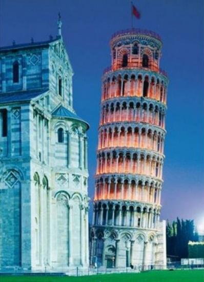 Clementoni puzzel Toren van Pisa 1000 delig