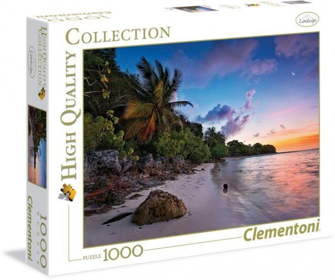 Clementoni Puzzel Tropical Idyll 1000 stukjes