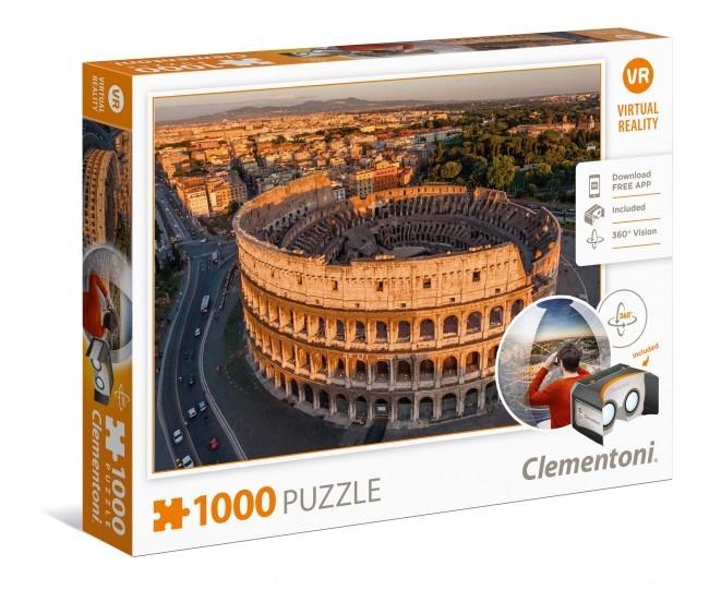 Clementoni Puzzel Virtual Reality Rome 1000 stukjes