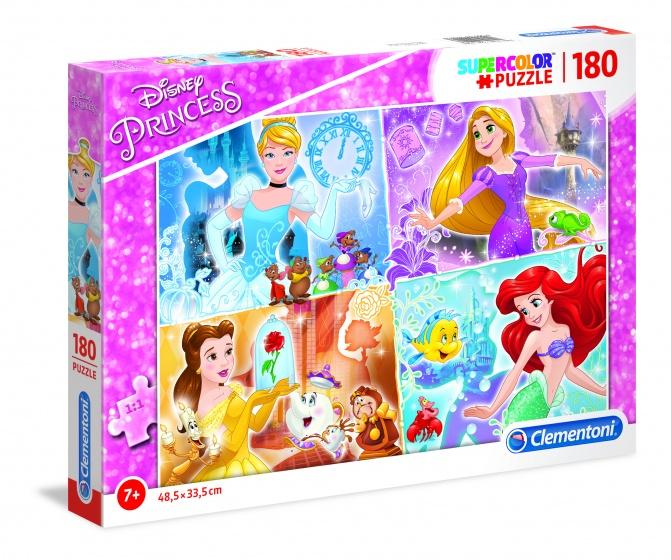 Clementoni supercolor legpuzzel Disney Princess 180 stukjes
