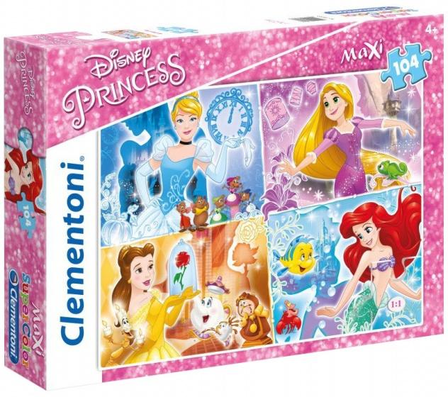 Puzzle Maxi Princess 104 tlg.