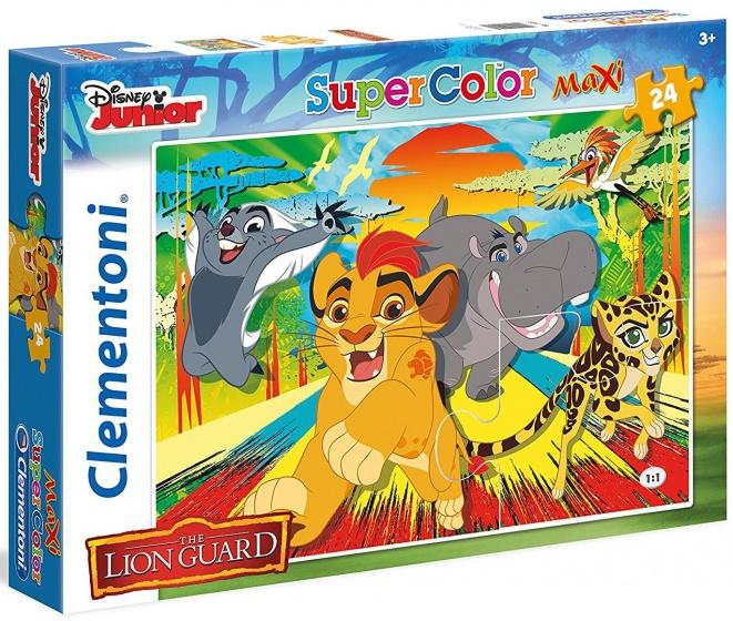 Clementoni supercolor maxi legpuzzel The Lion King 24 stukjes
