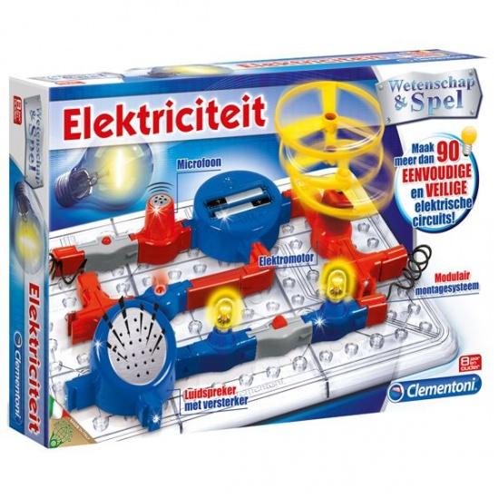 Clementoni wetenschap elektriciteit 23 delig