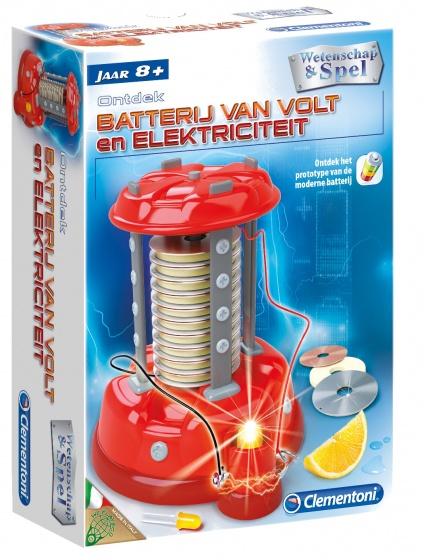 Clementoni Batterij van Volt en elektriciteit