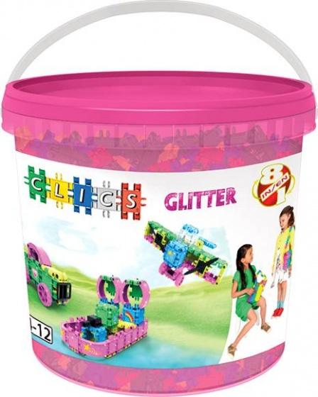 Clics Glitter Emmer 8 In 1