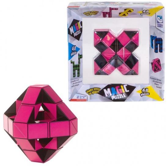 Clown Games clown magic puzzel 48 delig roze