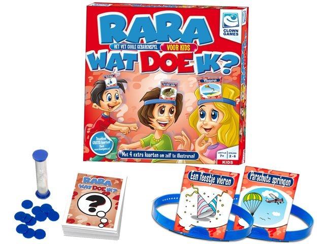 Clown Games Rara Wat Doe IK?