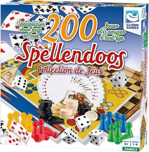 Clown Games Spellendoos 200 Delig