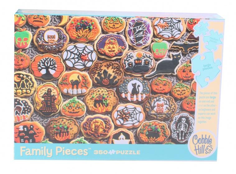 Cobble Hill legpuzzel Halloween Cookies 350 stukjes