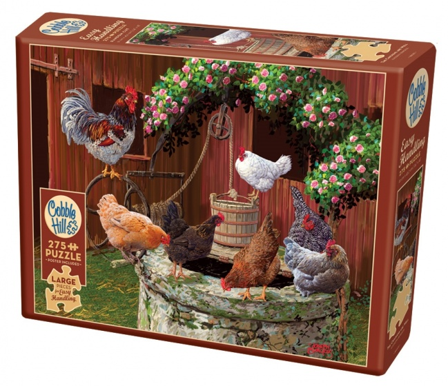 Cobble Hill legpuzzel The Chickens are Well 275 stukjes