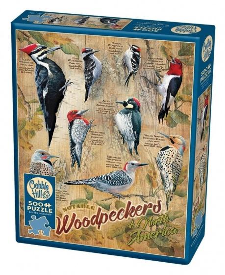 Cobble Hill Legpuzzel Woodpeckers 500 stukjes