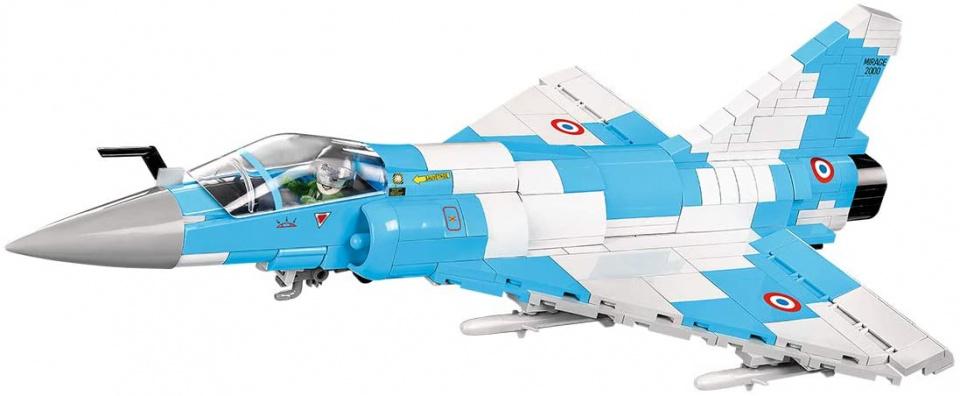 Cobi bouwpakket Armed Forces Mirage 2000 5 grijs/blauw 400 delig