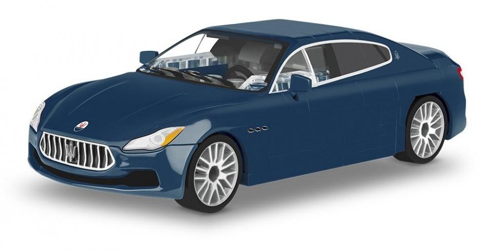 Cobi bouwpakket Maserati Quattroporte 1:35 blauw 109 delig 24563
