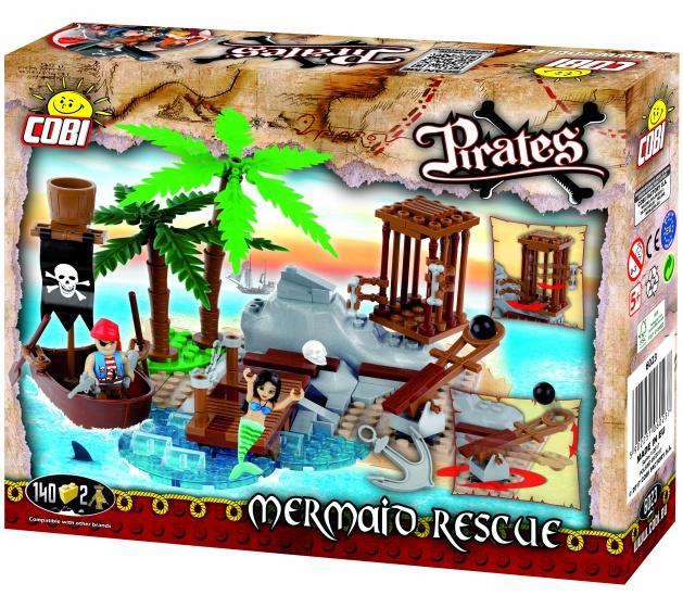 Cobi Pirates bouwset Mermaid rescue 142 delig (6023)