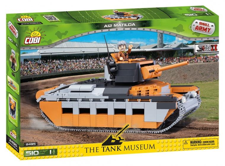 Cobi Small Army A12 Matilda bouwset 510 delig 2495