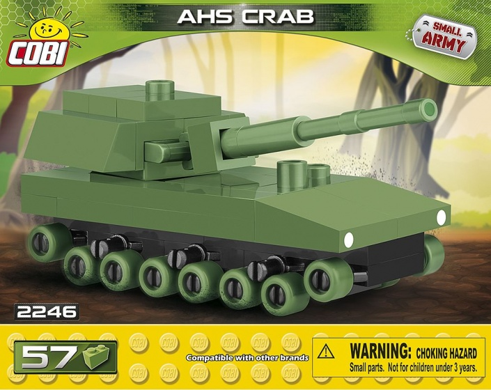 Cobi Small Army AHS Crab bouwset 57 delig 2246