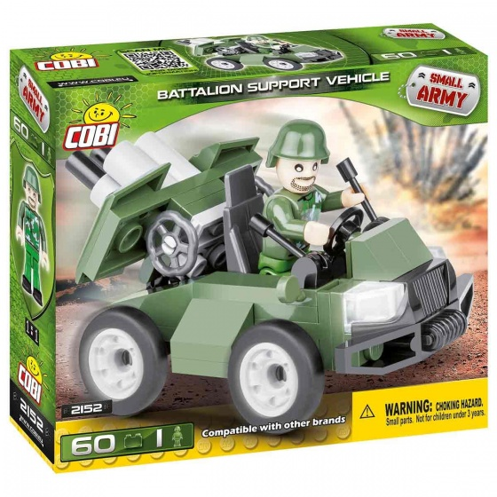 Cobi Small Army Battalion Support Vehicle bouwset 60 delig 2152