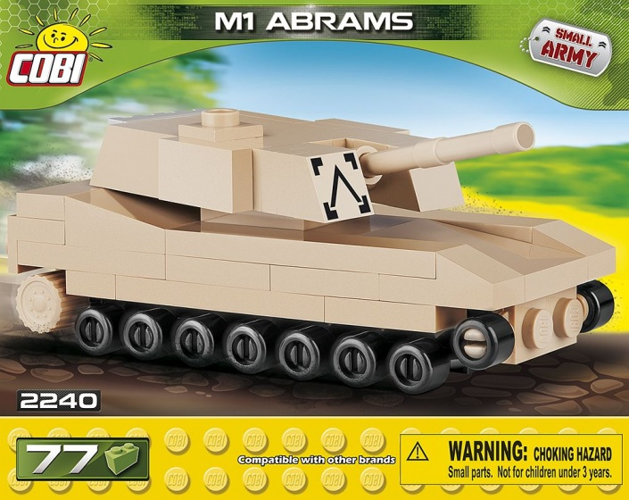 Cobi Small Army M1 Abrams bouwset 77 delig 2240
